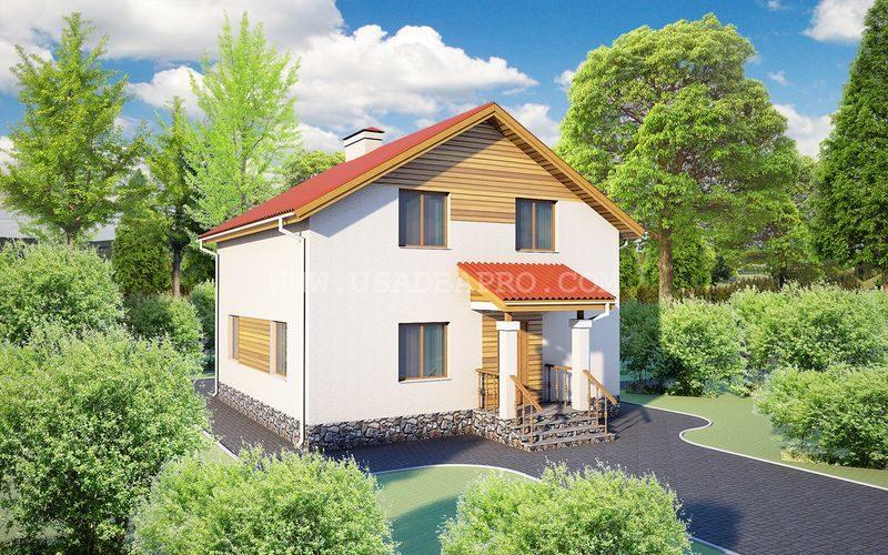 Проект загородного дома под ключ