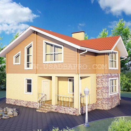 Проект загородного дома в Ижевске