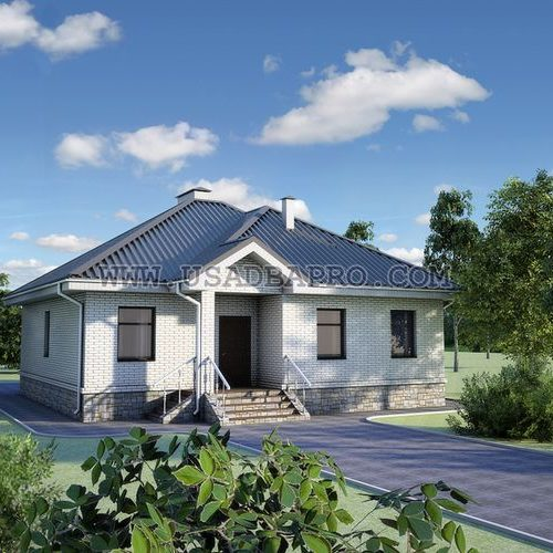 Одноэтажный дом проект