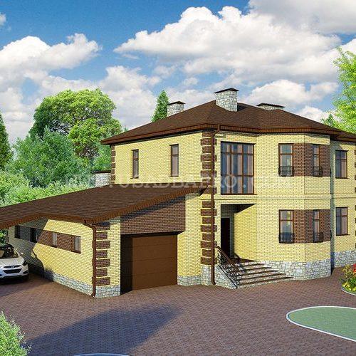 Готовый проект под ключ дом двухэтажный