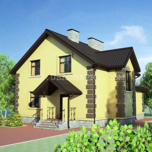 Готовый проект жилого дома